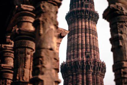 India Qutub Minar New Delhi 2