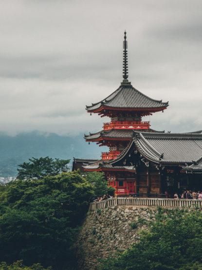 Japan Kiyomizu Dera Temple Kyoto 1