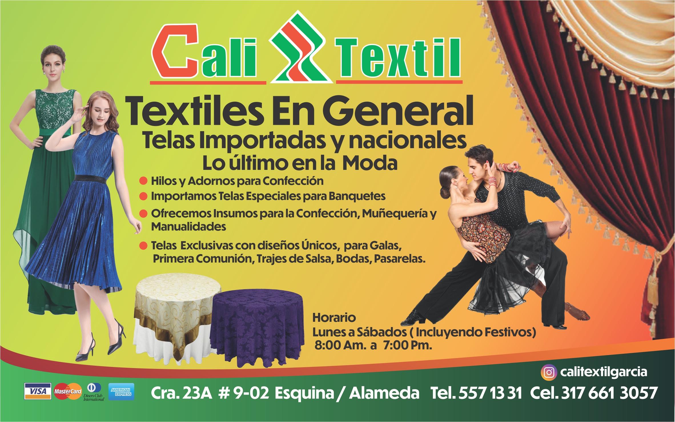 Volante cali textil